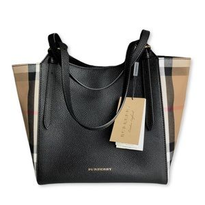 Burberry Canterbury Calf Leather Tote
